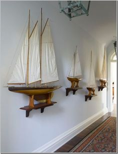 Model Ships and Nautical Decor for Interior Design | Nautical Handcrafted Decor Blog