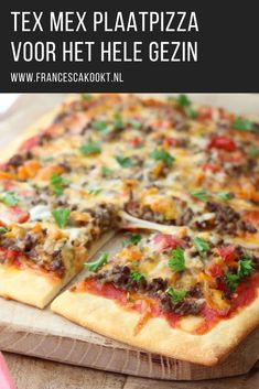 Tex Mex, Quiche, Pita Wrap, Flan, I Foods, Vegetable Pizza, Food Inspiration, Healthy Life, Food And Drink