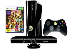 Xbox 360 250GB Kinect Console from Harvey Norman New Zealand