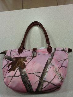 Pink Real Tree Camo Handbag picclick.com