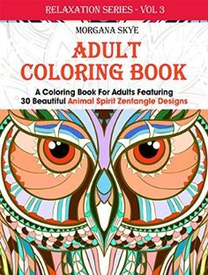 09 September 2015 : Adult Coloring Book: Coloring Book For Adults Featuring 30 Beautiful Animal Spirit Zentangle Designs by Morgana Skye http://www.dailyfreebooks.com/bookinfo.php?book=aHR0cDovL3d3dy5hbWF6b24uY29tL2dwL3Byb2R1Y3QvQjAxNTNITEVPMC8/dGFnPWRhaWx5ZmItMjA=