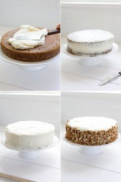 The Very Best Carrot Cake - Freutcake Dessert Kabobs, Dessert Pizza, Baking Recipes, Cake Recipes, Dessert Recipes, Best Carrot Cake, Carrot Cakes, Fruit Cakes, How To Stack Cakes