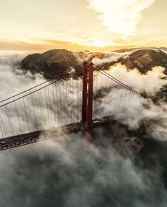 It's just as amazing as the bridge itself, how that fog can just roll in.  One minute it's there and then twenty minutes later it's gone then back again thirty minutes after that.