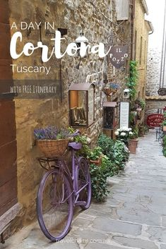Spend a day in Cortona, Tuscany, a delightful tuscan town perched on the side of a hill. Complete with a day itinerary already planned for your visit.