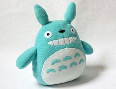 Totoro plush. OMG I WANT ONE!!!