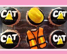 The Construction Man Cupcakes
