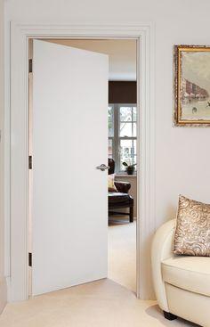Flush White Primed (FD30) Bedroom Door Design, Bedroom Doors, Primed Doors, Fire Doors, Modern Door, Internal Doors, Furniture, Windows, Home Decor