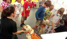 biblioLAB amb Kanstak - lectura assistida amb gossos