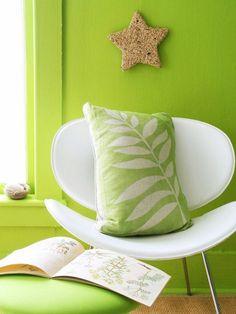 dekokissen grün ideen für herbstdeko natur inspiriert