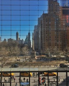 Columbus Circle seen from the Time Warner Building