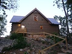VRBO.com #901834ha - Peaceful Log Cabin Getaway on Top of Lookout Mountain with Spectacular Views