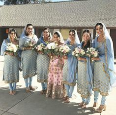 Order Now! For more details WhatsApp 9849565683 Indian Bridal Party, Indian Bridal Photos, Indian Wedding Gowns, Indian Bridal Outfits, Sikh Wedding, Punjabi Wedding, Wedding Outfits For Groom, Groomsmen Outfits, Wedding Dresses