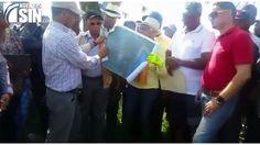 Campesinos denuncian Medio Ambiente quiere despojarlos de terrenos dedicados al cultivo de arroz y crianza de animales en Bajo Yuna