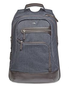 Brenthaven Collins Laptop Backpack | Indigo Chambray Bren...