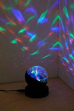 Rotating Mini Prisma Light