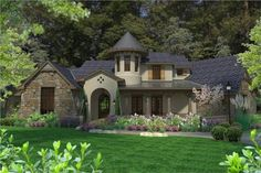 This+lovely+Cottage+style+home+with+Craftsman+influences+(House+Plan+#117-1118)+has+3230+square+feet+of+living+space.+The+2+story+floor+plan+includes+3+bedrooms.