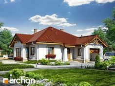 Dom w renklodach Home Fashion, Cabin, Mansions, House Styles, Projects, Home Decor, Houses, Mansion Houses, Homes