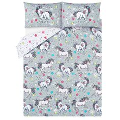 Add a touch of magic to your space with this quirky duvet set from George Home. In a gorgeous grey design scattered with sweet stars and enchanting unicorns,. Private Browsing Mode, Unicorn Print, Duvet Sets, Latest Fashion For Women, Kids Toys, Duvet Covers, Quilts, Bedroom, Childhood Toys