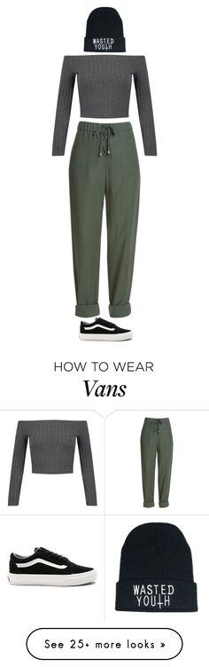 """""""Street Style"""" by mayalexia on Polyvore featuring WithChic and Vans"""