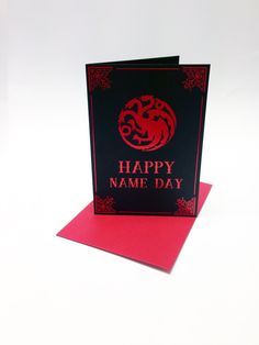 Game of Thrones inspired birthday card with by SuperCoolCards, £1.70