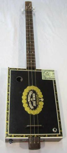cigar box guitar on pinterest cigar box guitar cigar boxes and cigars. Black Bedroom Furniture Sets. Home Design Ideas