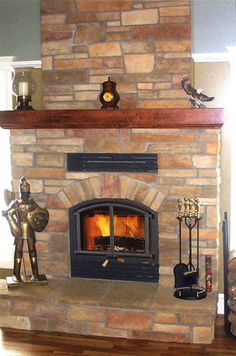 Opel 3 Fireplace | ICC Chimney - RSF Fireplaces-- large viewing ...
