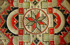 Porcupine Quill-work by rgsheritage Native American Artwork, Native American Crafts, Native American Design, American Indian Art, Native American Indians, Birch Bark Baskets, Needlepoint Patterns, Indigenous Art, Aboriginal Art