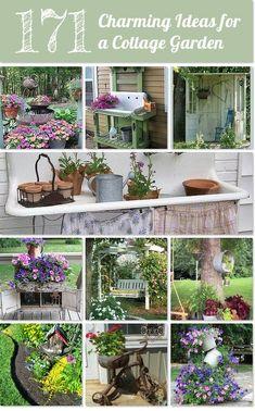 100+ Ideas for a charming cottage gardenhttp://www.hometalk.com/l/74d  ~ Great pin! For Oahu architectural design visit http://ownerbuiltdesign.com