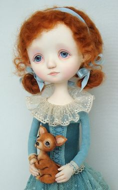 Abby - original doll by Ana Salvador