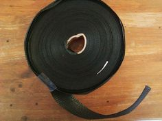 Lawn Chair Webbing Replacement Webbing BLACK Large ROLL See Pics = Free USA Ship #unknown