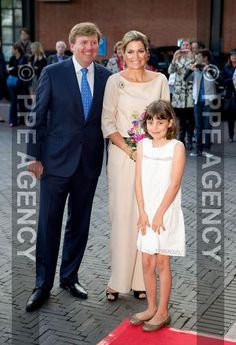 In Amsterdam, the King and Queen of the Netherlands attended the Holland Festival.