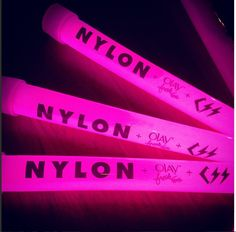 No #NYLONMusicTour is complete without some free swag @Ola Luv Yost Fresh Effects