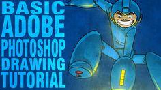 Basic Adobe Photoshop Drawing Tutorial: Zarting Arting