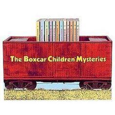 The Boxcar Children Bookshelf.