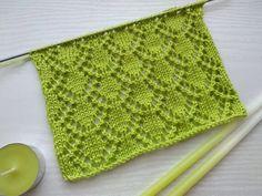 Lace Knitting Stitches, Lace Knitting Patterns, Knitting Designs, Knitting Needles, Free Knitting, Knitting Projects, Baby Knitting, Stitch Patterns, Lace Patterns