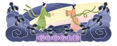 Qixi Festival 2021 Google Doodles, Stars Then And Now, Cool Pins, Various Artists, Beautiful Asian Girls, Recherche Google, Happy, Mustang, Motorcycles