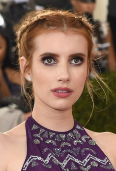 Emma Roberts at the 2016 Met Gala