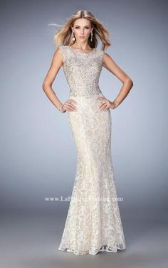 22934  New 2016 Lafemme Prom Gowns available at Bridal and Formal's Club Dress 300 W. Benson Cincinnati, OH 45215 513.821.6622