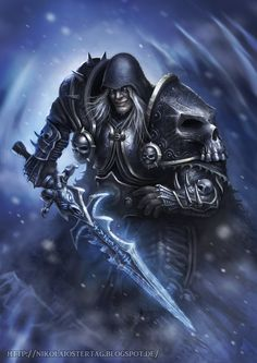 Arthas by ~Nimao on deviantART