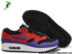 official photos 18b6c dfbae Latest Listing Mens Nike Air Max 1 Dark Shadow Varsity Purple Shoes Sports  Shoes Store Cheap