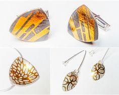 by Karine Rodrigue Silver Jewelry Box, Mixed Metal Jewelry, Charm Jewelry, Silver Ring, Wedding Rings For Women, Contemporary Jewellery, Jewelery, Handmade Jewelry, Jewelry Design