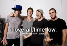 All Time Low❤