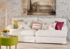 Poťah na sedačku IKEA z kolekcie Living. #potah#ikea#sedacka#obyvacka#vankuse Loft, Love Seat, Ikea, Sweet Home, Couch, Furniture, Home Decor, Settee, Decoration Home