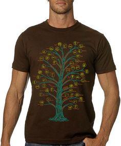 Evolution Tshirt Tree Of Life Science TShirt von nonfictiontees, $16.00