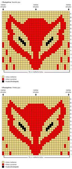Kettukarkki-pipot Novita 7 Veljestä | Novita knits