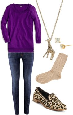 """""""OOTD 2-1-2013"""" by ashleyboccuti on Polyvore"""