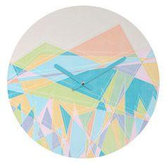Gabi Free Round Clock | DENY Designs Home Accessories