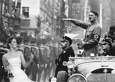 Jennifer Lawrence Flips Off Hitler