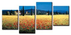 Xl04_12020 / Cuadro Panoramica de la Toscana