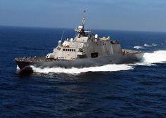 USS Milwaukee (LCS-5) - Freedom class Littoral Combat Ship (USA)